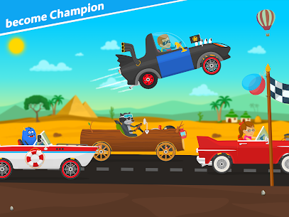 Racing car games for kids 2-5. Cars for toddlers 9