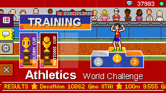Athletics - World Challenge Screenshot