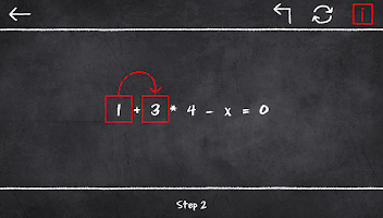 x=1: Learn to solve equations
