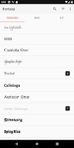 Fontasy - Google Fonts Browser 0.0.37