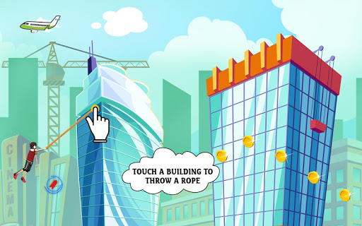 City bounce rope herou2013Free offline adventure games apkmr screenshots 2