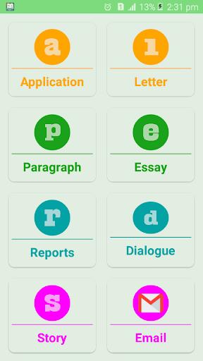 English Writing skills for academic (free) screenshots 2
