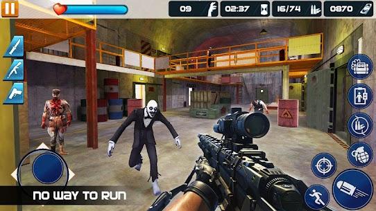 Real zombie hunter MOD APK (GOD MODE/NO ADS) 5