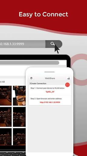 Zapya WebShare - File Sharing in Web Browser  Screenshots 2