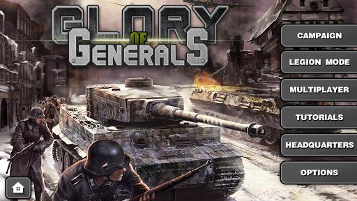 Glory of Generals-WW2 frontline War Strategy Game 1.2.12 Screenshots 5