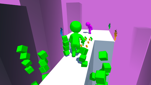 Color Run Stickman 3D apkpoly screenshots 5