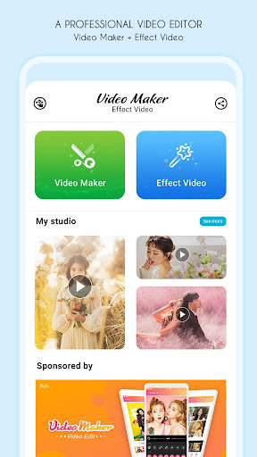 Video maker, video effect screenshot 1