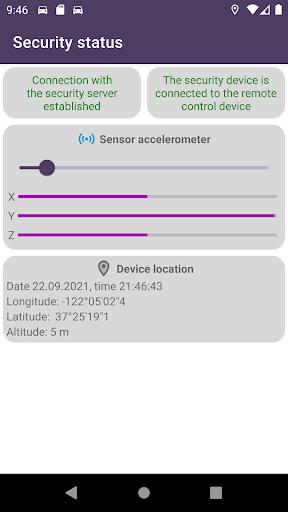 Remote car security screenshot 3