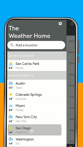 Weather Home - Live Radar Alerts & Widget modavailable screenshots 6