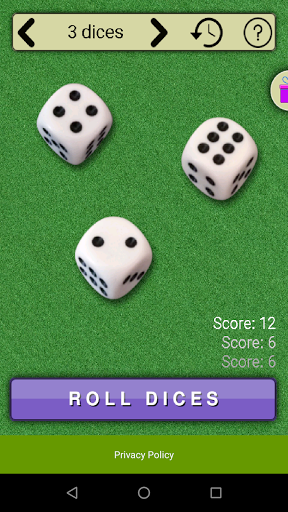 virtual dices screenshot 3