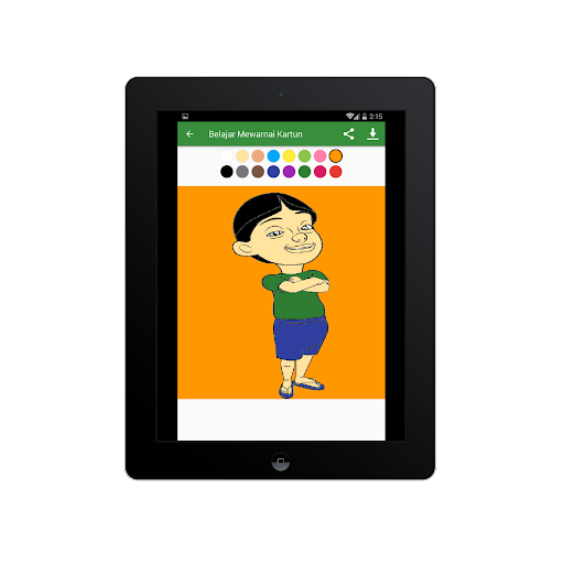Belajar Mewarnai Gambar Kartun Untuk Anaku2013Infokuu  Screenshots 21