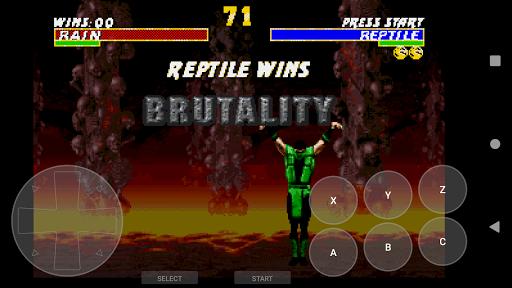 Retro Game Emulator (MD2/GENESIS) apkpoly screenshots 5