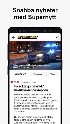 Aftonbladet Nyheter apktram screenshots 4