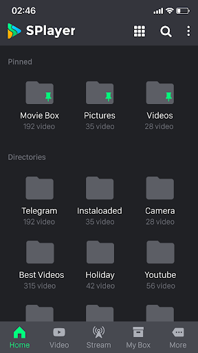 SPlayer - Video Player for Android  screenshots 2