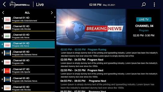 Baixar IPTV Smarters Pro Mod Apk Última Versão – {Atualizado Em 2021} 3
