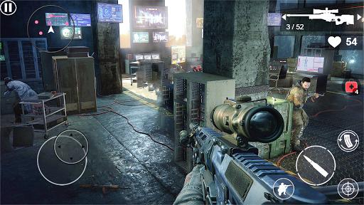 Code Triche Forward Strike Warfare: Offline Shooting Games apk mod screenshots 1