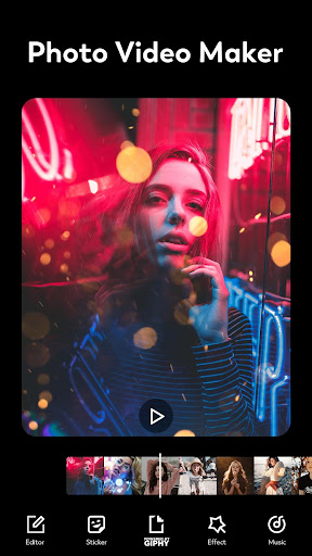 Video Maker & Photo Slideshow, Music - FotoPlay 2.8.4 Screenshots 1