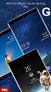 Weather Widget Galaxy S8 Pro S9 v1.0.0 [Paid] 1