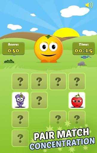 Mem Fruits: find pairs, concentration  screenshots 3