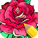 Flowers Coloring Books - Androidアプリ
