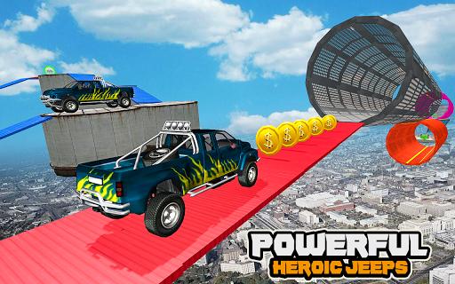 Mega Car Ramp Impossible Stunt Game  Screenshots 1