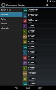 Wielertoerisme kalender 4.3.4c screenshots {n} 5
