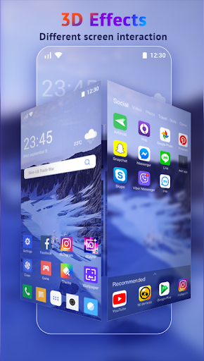U Launcher Lite-New 3D Launcher 2020, Hide apps 2.2.40 Screenshots 4