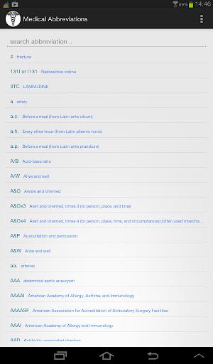 Medical Abbreviations 1.2.4 Screenshots 5