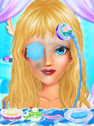 ice queen makeup: ice princess salon screenshot 2