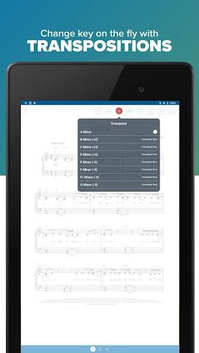 Musicnotes Sheet Music Player modavailable screenshots 18