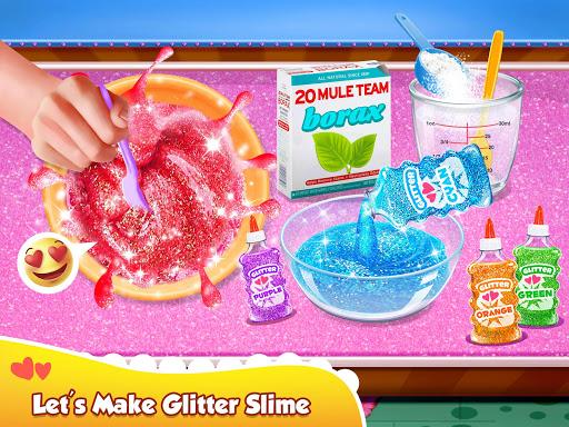 Glitter Slime Maker - Crazy Slime Fun screenshots 1