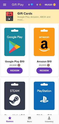 Gift Play - Free Game Codes modavailable screenshots 4