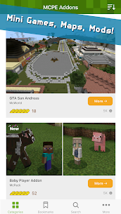 Addons for Minecraft (MOD, AD-Free) 1