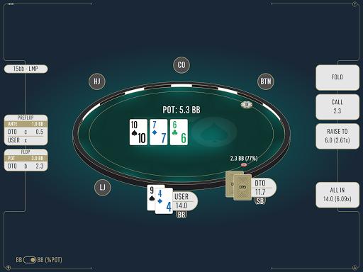 DTO Poker - Your GTO MTT Poker Trainer screenshots 9