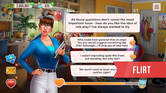College Love Game MOD (Unlimited Money) 3