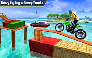 Crazy Bike Racing Stunt 3D Adventure