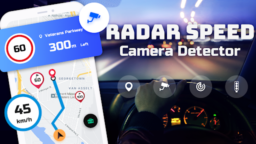 Speed Camera Radar - Police Detector & Speed Alert apktram screenshots 8