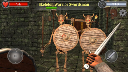 Old Gold 3D - First Person Dungeon Crawler RPG modiapk screenshots 1