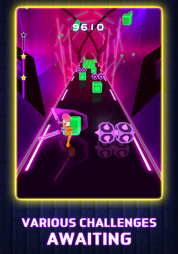 Beat Blader 3D: Dash and Slash! screenshots 11