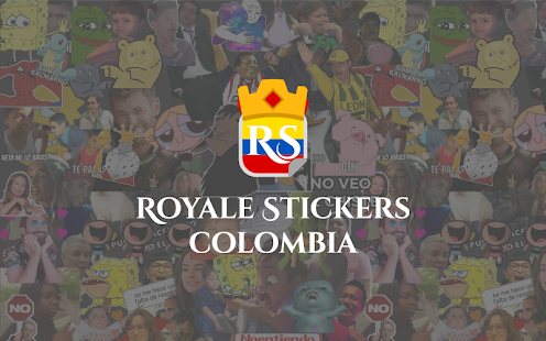 Royale Stickers Colombia - Stickers para WhatsApp Screenshot