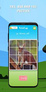 Super Simple Slide: 150 free tile sliding puzzles