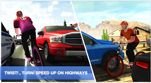 bicycle highway rider screenshot 2