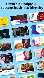 Business Card Maker MOD APK (Premium Unlocked) Download 1