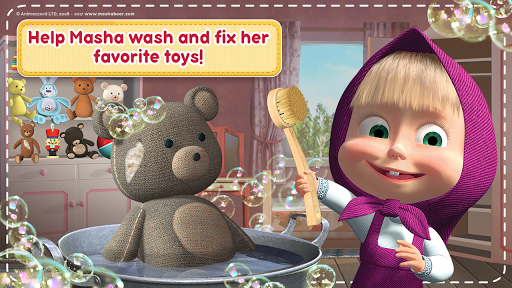 Masha and the Bear: House Cleaning Games for Girls 2.0.0 screenshots 6