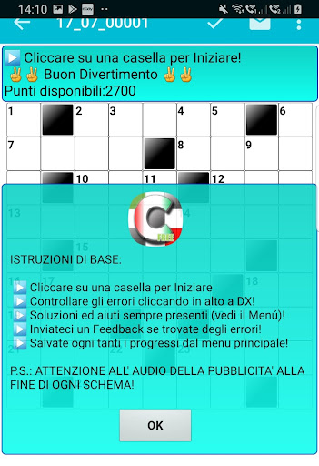 Best Italian Crossword Puzzles - Advanced Level 10.1 Screenshots 8