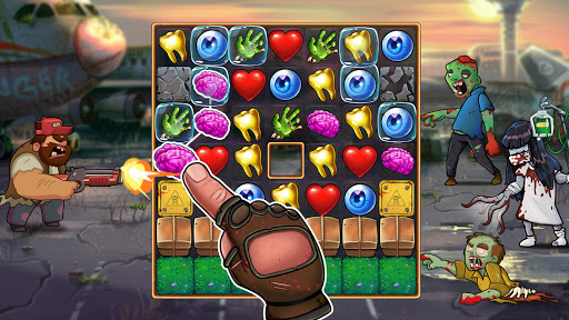 Zombie Blast - Match 3 Puzzle RPG Game 2.5.1 screenshots 6
