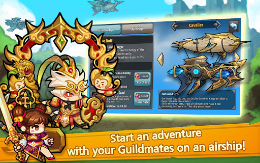Raid the Dungeon : Idle RPG Heroes AFK or Tap Tap 1.10.2 screenshots 22