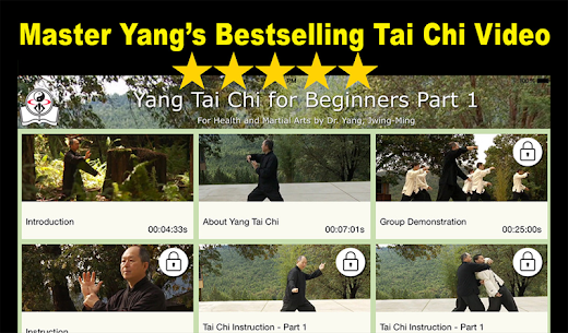 Yang Tai Chi for Beginners 2&3 by Dr. Yang Mod Apk (Full Unlocked) 1