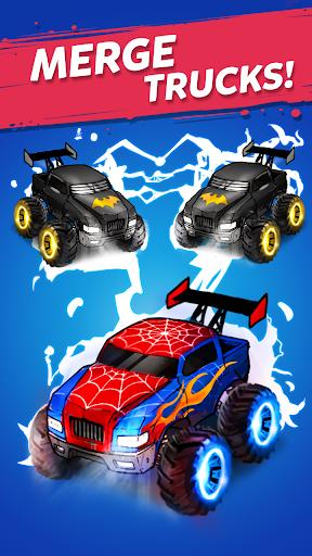 Merge Truck: Monster Truck Evolution Merger game 2.6.2 screenshots 1