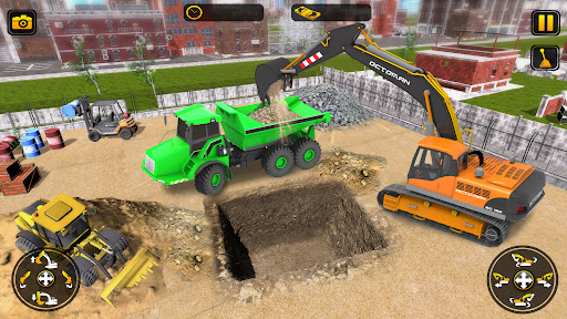 Heavy Construction Simulator Game: Excavator Games 1.0.1 screenshots 9